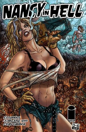 Cover for Nancy in Hell #2 (2010)