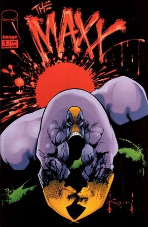 Cover for The Maxx #1 (1993)