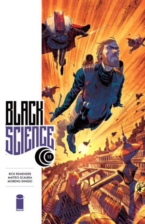 Cover for Black Science #15 (2015)