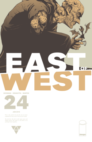 Cover for East of West #24 (2016)