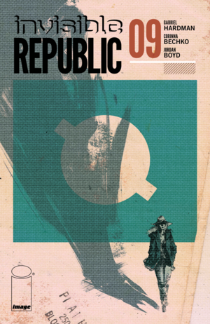 Cover for Invisible Republic #9 (2016)