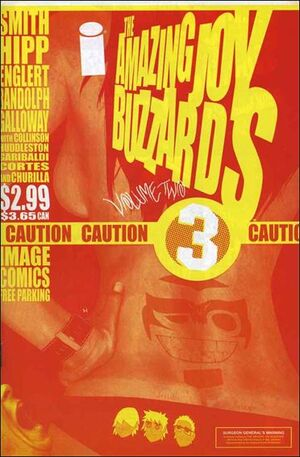 Cover for Amazing Joy Buzzards #3 (2005)