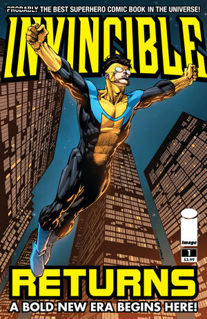 Cover for Invincible Returns #1 (2010)