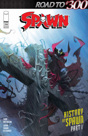Cover for Spawn #296 (2019)