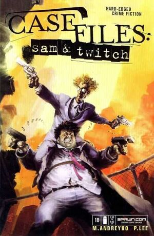 Cover for Case Files: Sam and Twitch #10 (2004)