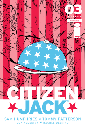 Cover for Citizen Jack #3 (2016)