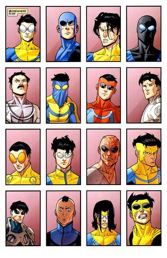 Alternate Mark Graysons | Image Comics Database | Fandom