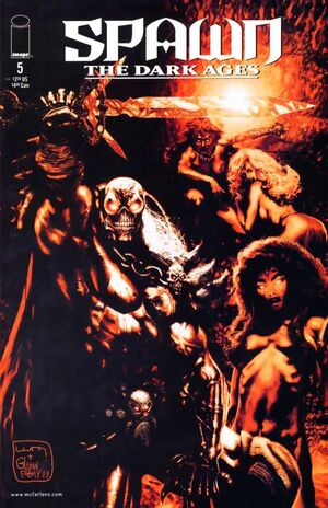 Cover for Spawn The Dark Ages #5 (1999)