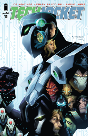 Cover for Tech Jacket #12 (2015)