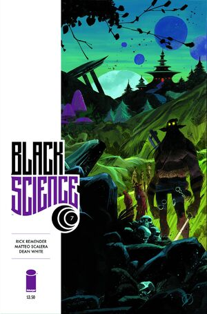 Cover for Black Science #7 (2014)