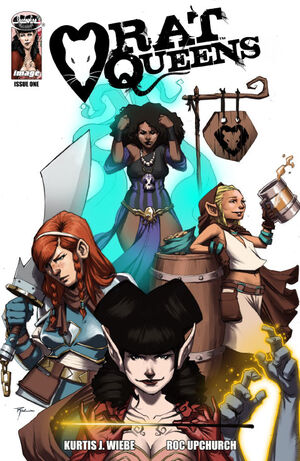 Cover for Rat Queens #1 (2013)