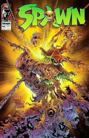 Cover for Spawn #41 (1996)