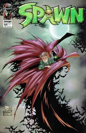 Cover for Spawn #58 (1997)