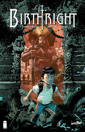 Cover for Birthright #1 (2014)