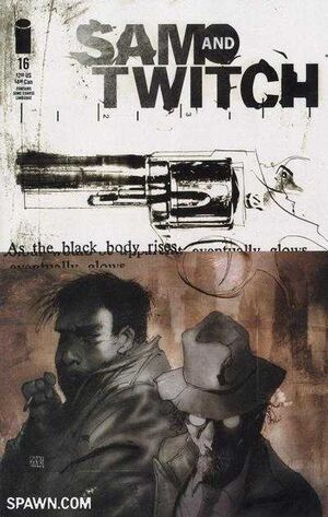 Cover for Sam and Twitch #16 (2000)