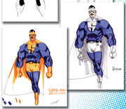 Supra-Man Concept Art
