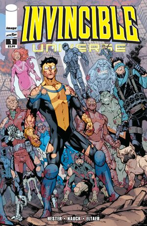 Cover for Invincible Universe #1 (2013)