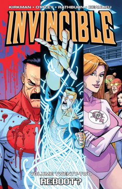 Cover for the Invincible TPB Vol 22 Trade Paperback