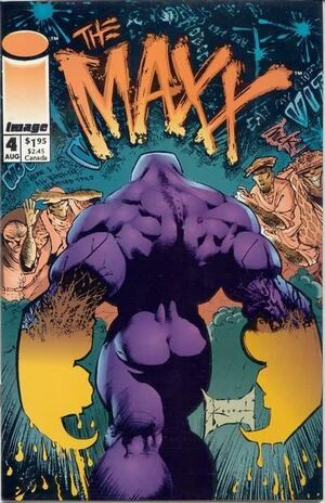 Cover for The Maxx #4 (1993)