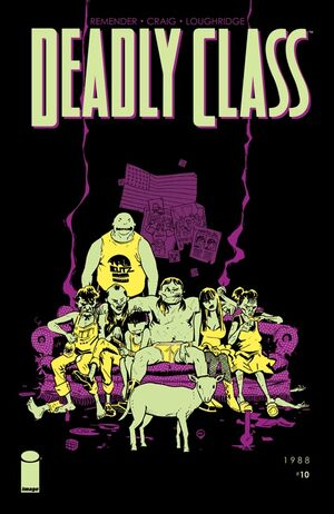Cover for Deadly Class #10 (2015)