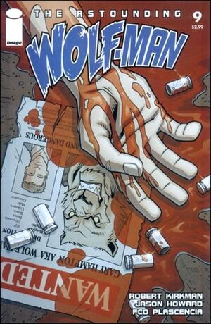 Cover for Astounding Wolf-Man #9 (2008)