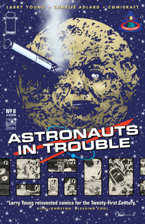 Cover for Astronauts in Trouble #8 (2016)