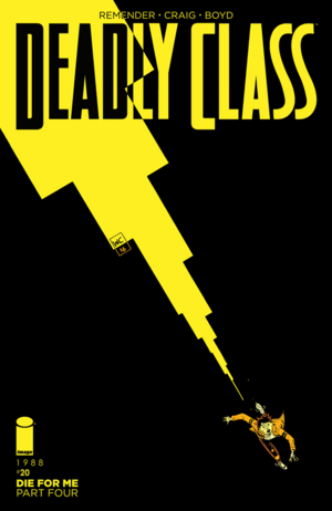Cover for Deadly Class #20 (2016)