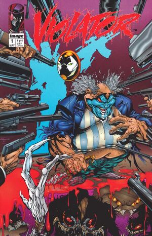 Cover for Violator #1 (1994)