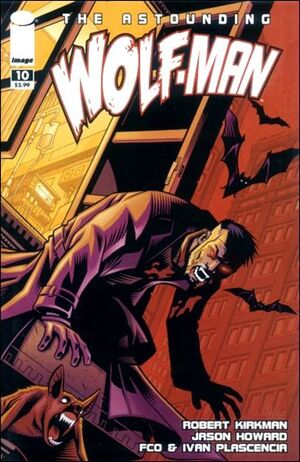 Cover for Astounding Wolf-Man #10 (2008)