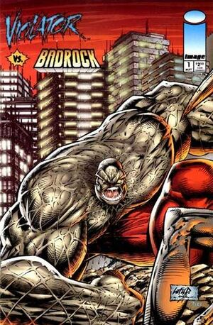 Cover for Violator vs. Badrock #1 (1995)