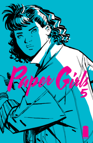 Cover for Paper Girls #5 (2016)