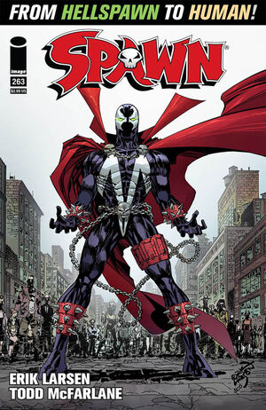 Cover for Spawn #263 (2016)