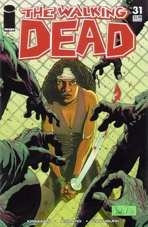 Cover for The Walking Dead #31 (2006)