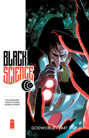Cover for Black Science #21 (2016)