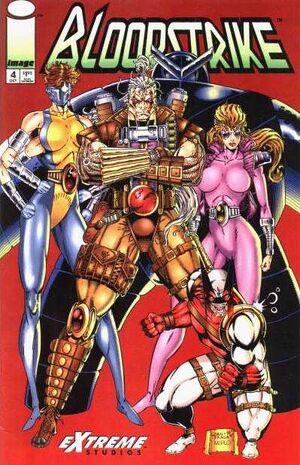 Cover for Bloodstrike #4 (1993)