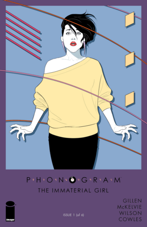 Cover for Phonogram: The Immaterial Girl #1 (2015)