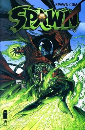 Cover for Spawn #96 (2000)