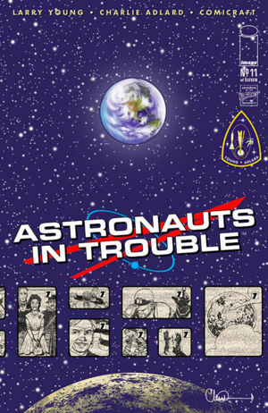 Cover for Astronauts in Trouble #11 (2016)