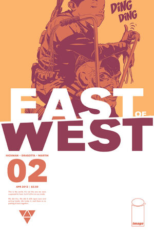 Cover for East of West #2 (2013)