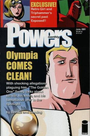Cover for Powers #12 (2001)
