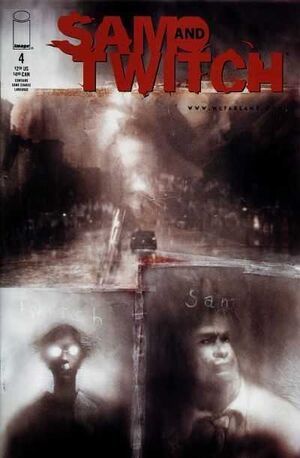 Cover for Sam and Twitch #4 (1999)