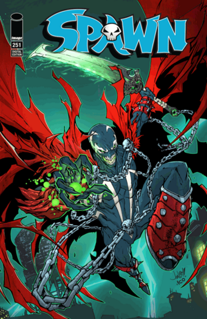 Cover for Spawn #251 (2015)