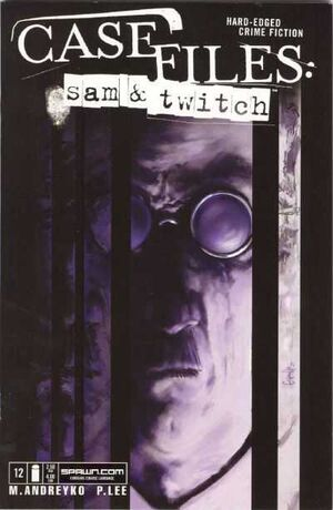 Cover for Case Files: Sam and Twitch #12 (2005)