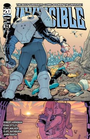 Cover for Invincible #94 (2012)