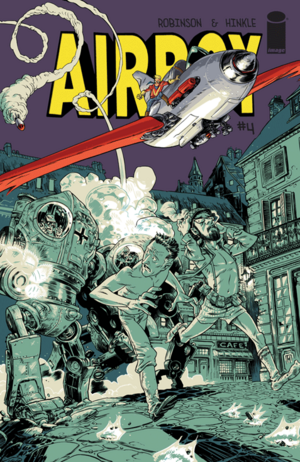 Cover for Airboy #4 (2015)