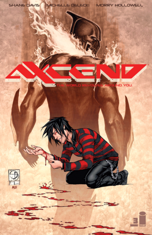 Cover for Axcend #3 (2015)