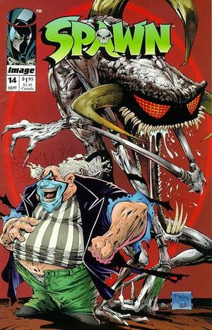 Cover for Spawn #14 (1993)