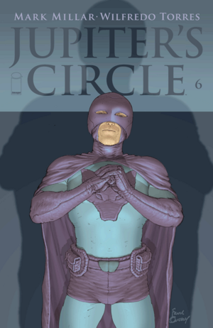 Cover for Jupiter's Circle #6 (2015)