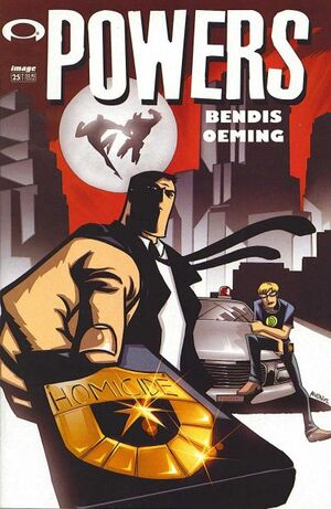 Cover for Powers #25 (2002)