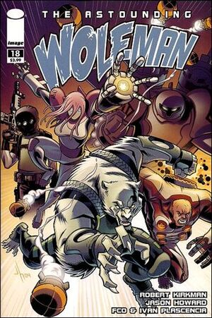 Cover for Astounding Wolf-Man #18 (2009)